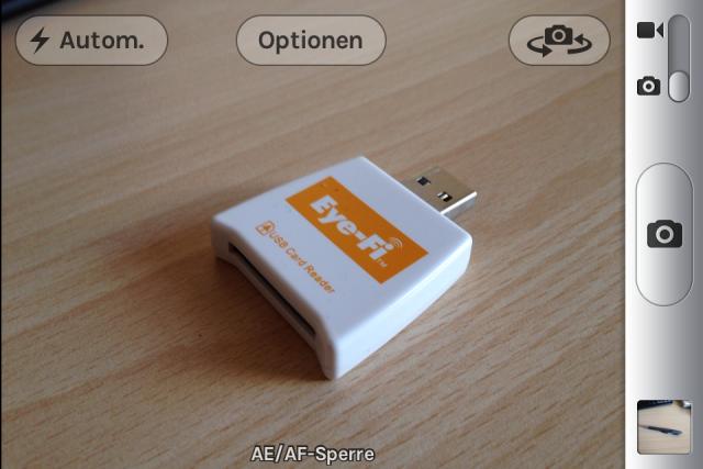 AF/AE Lock am iPhone 4s