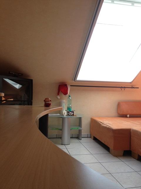 Indoor-Szene ohne Teleobjektiv