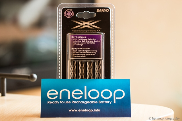 Sanyo Eneloop und Charger