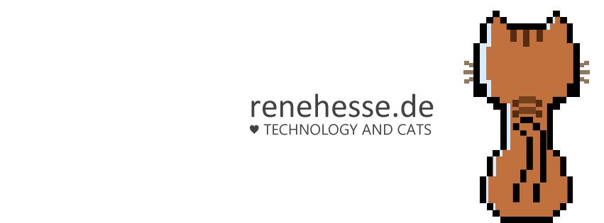 René präsentiert techtägliches und alltägliches