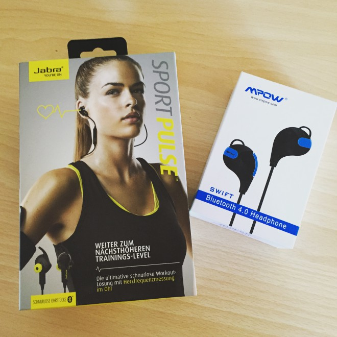 Jabra Sport Pulse Wireless vs. MPOW Swift